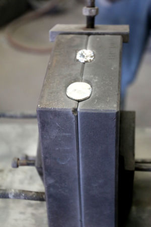 Refroididssement métal coquille